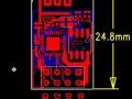 ESP8266 ESP-01 v090 pinouts