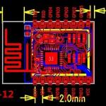 ESP8266 ESP-12 pinouts