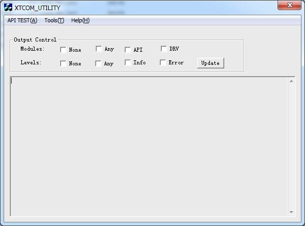 ESP8266 обновление прошивки через XTCOM_UTIL шаг 1