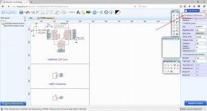 Кнопка перехода в режим менеджера разработки в EasyEDA