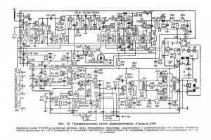 Схема радиоприемника Спидола-230